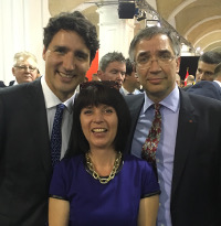 Trudeau, Dyczok and Waschuk