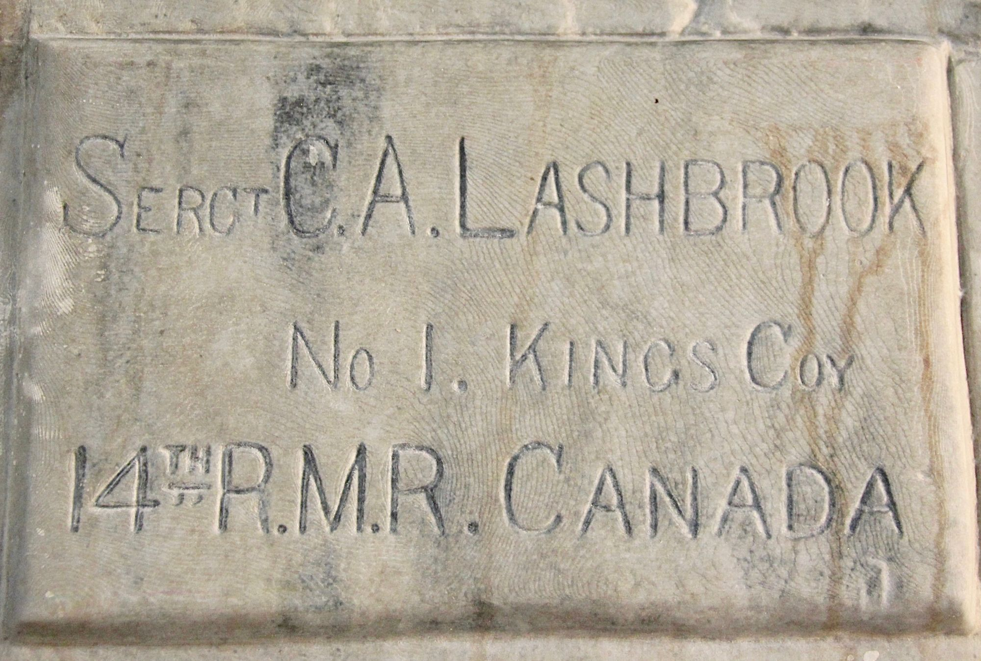 Vimy Carvings